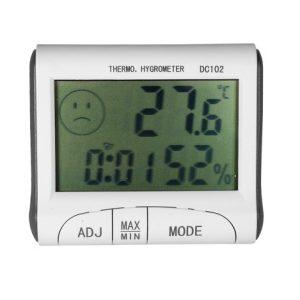 Termometru ceas si higrometru LCD ED134THE