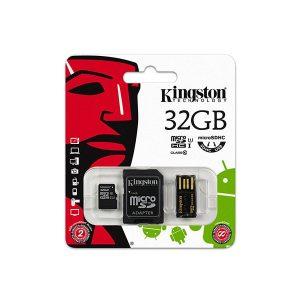 CARD MICROSD 32GB ADAPTOR USB KINGSTON
