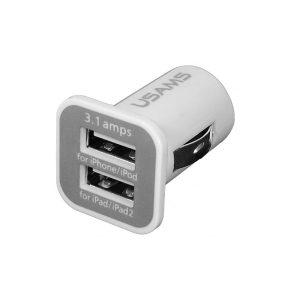 INCARCATOR AUTO BRICHETA PORT DUBLU USB 3.1A ED245THE