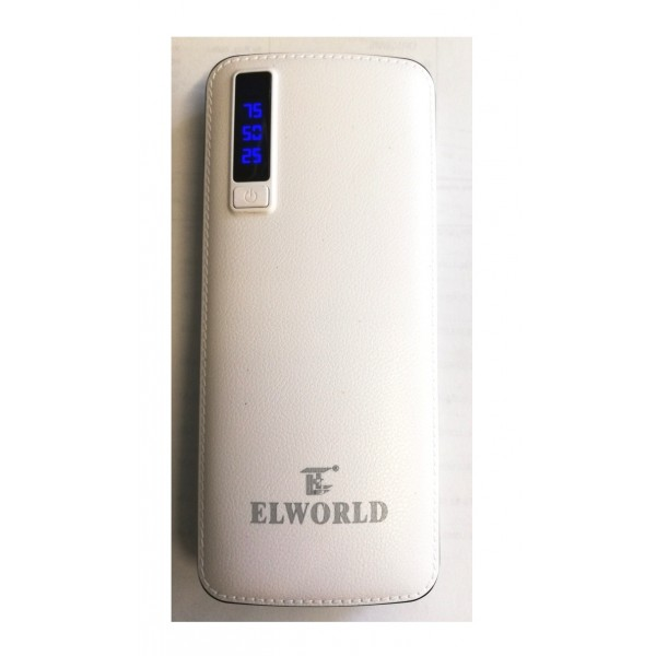 Incarcator portabil Power Bank 20000mah ELWORLD ED200BBC