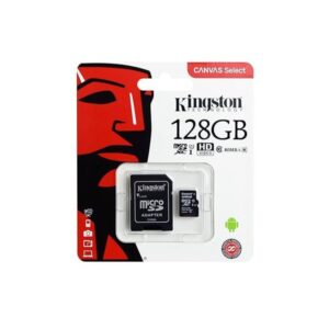 CARD MICRO SD 128GB CLASS 10 KINGSTON ED128LCP