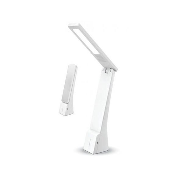 LAMPA BIROU 4W 3IN1 3000K/4500K/6000K ALB ARGINTIU ED7098ELP