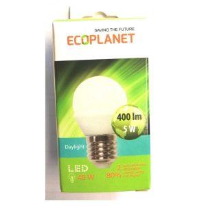 BEC LED 5W G45 E27 6500K ED13ECP
