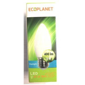 BEC LED 5W C35 E27 6500K ED21ECP