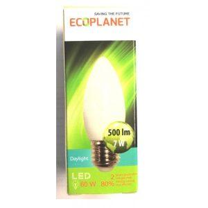 BEC LED 7W C35 E27 6500K ED22ECP
