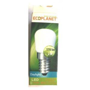 BEC LED E14 2W 6500K 230V ED144ECP