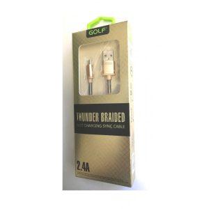 Cablu usb la MICROUSB 2.4A Fast Charger ED245GLB