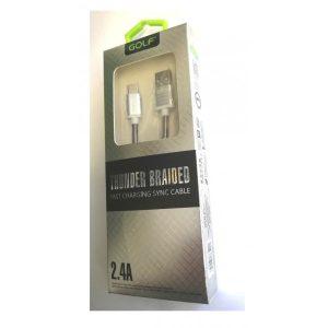 Cablu usb la TIPC 2.4A Fast Charger ED246GLB
