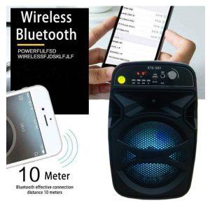 Boxa portabila bluetooth, karaoke radio KTS1061ED