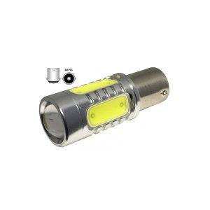 Bec auto CIREASA cu 5 LED COB cu LUPA lumina alb rece ED799THE
