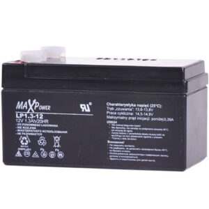 ACUMULATOR PLUMB-ACID 12V 1.3AH MAXPOWER ED0404LCP