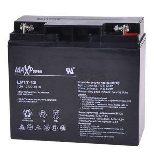 ACUMULATOR PLUMB-ACID 12V 17AH MAXPOWER ED0405LCP