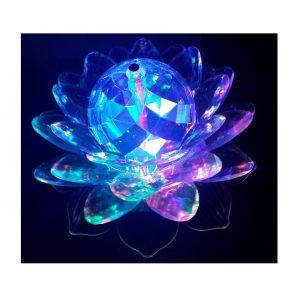 Lampa floare RGB cu joc de lumini
