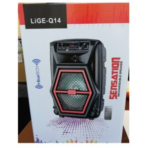 Boxa Bluetooth microfon si telecomanda LIGE-Q14