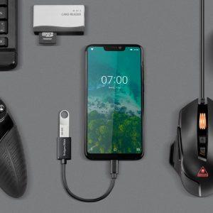 CABLU OTG USB 3.0 MAMA la USB TIP C TATA