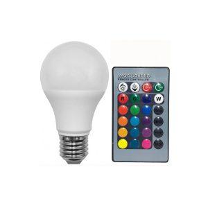 Bec led RGB 1.5W E27 telecomanda ED545THE
