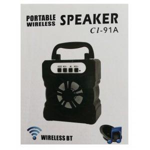 Boxa portabila Bluetooth Radio ED91A