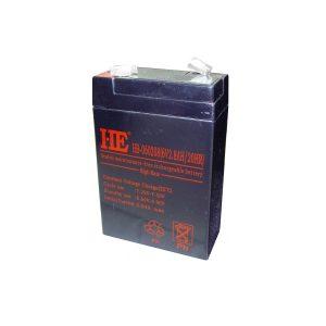 Acumulator plumb acid 6V 2.8Ah ED567TH