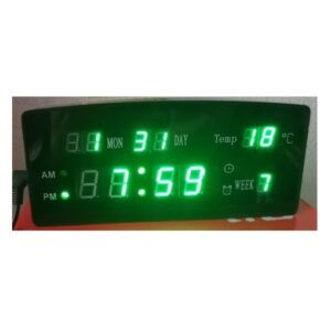 Ceas electronic afisaj digital verde ED9081