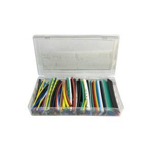 Set 100 tuburi termocontractabile colorate ED690TH