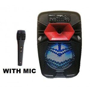 Boxa cu telecomanda si microfon 20W ZQS-8111ED