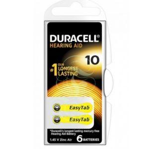 Set baterii aparatauditivnr.10 Duracell