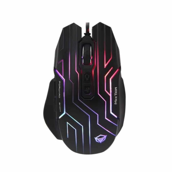 Mouse Gaming Meetion MT-GM22 RGB software 4800 Dpi