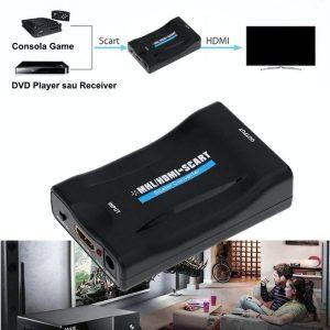 Convertor Video HDMI / MHL la Scart