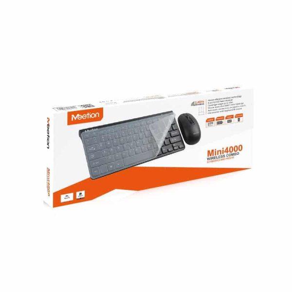 Kit Wireless Meetion Tastatura si Mouse Mini4000